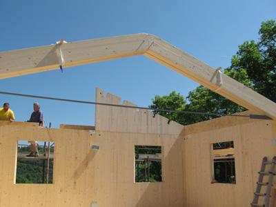 Tecnica di costruzione xlam orobica legno - Quanto costa una casa prefabbricata in cemento armato ...
